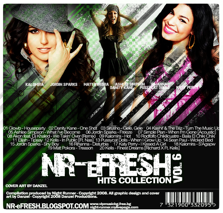 NR eFRESH Hits Collection vol 6 {320kbps} 2008 preview 1
