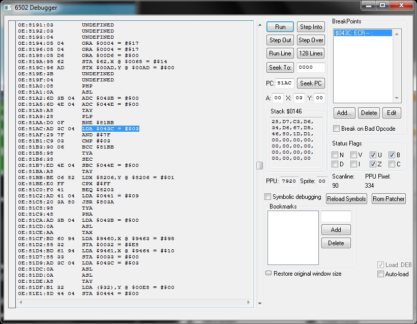 BG Development Форуми -> NES Hacking 6502 Assembly