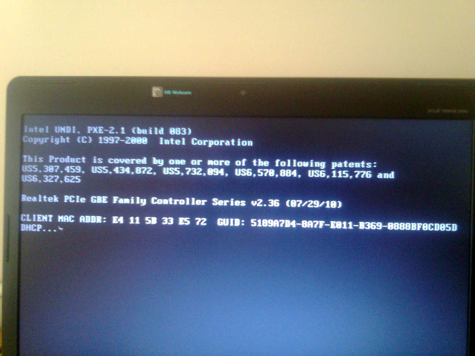 installation failed with error 0x80070103