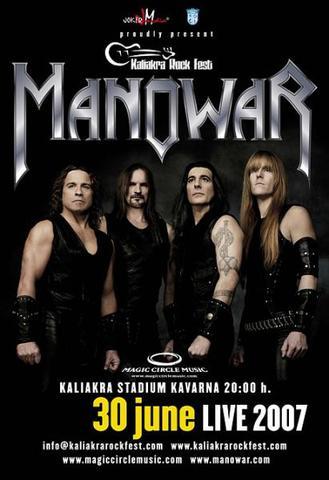 MAnowar - Live in Kawarna (2007) Video DVD