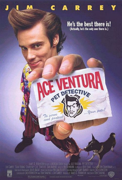 Download Movie Ace Ventura: Pet Detective / Ейс Вентура: Зоодетектив (1994)