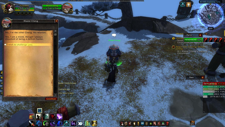 how to get demon hunter classs mount