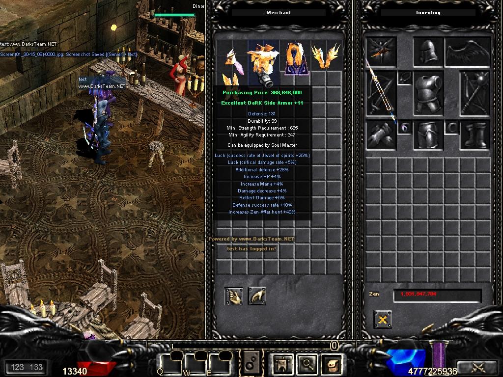 DarksTeam MuServer 97d99i Beta 34.7 - Marry, Quest System & Sky Event! 9b3078ae147fc09b