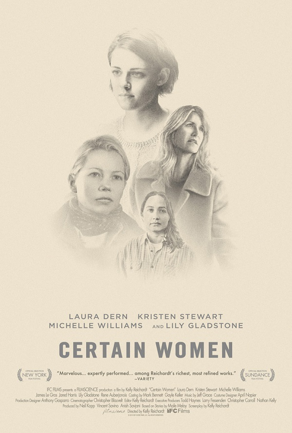 Certain Women / Някои жени (2016)