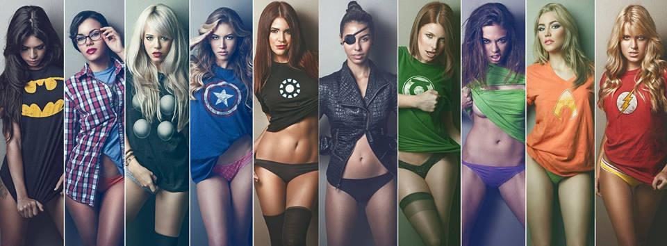 супергерои голые фото